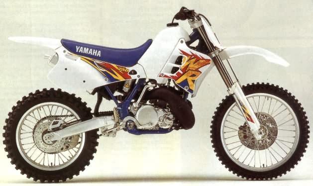 Le Guide Vert Yamaha 1995 Les Fiches Techniques Moto