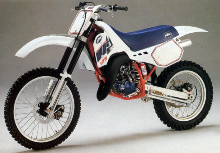 le guide vert ktm cross 1988 les fiches techniques moto enduro trial et motocross. Black Bedroom Furniture Sets. Home Design Ideas