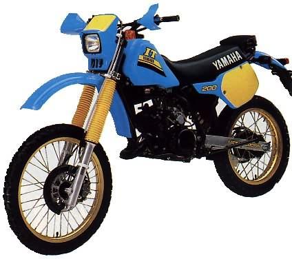 le guide vert yamaha enduro les fiches techniques moto enduro trial et motocross. Black Bedroom Furniture Sets. Home Design Ideas