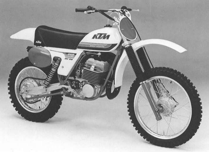 le guide vert ktm 1979 les fiches techniques moto enduro trial et motocross. Black Bedroom Furniture Sets. Home Design Ideas