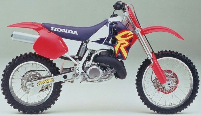 le guide vert honda cross 1995 les fiches techniques moto enduro trial et motocross. Black Bedroom Furniture Sets. Home Design Ideas