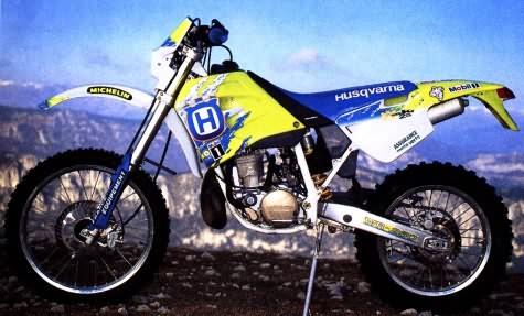 le guide vert husqvarna 1995 les fiches techniques moto enduro trial et motocross. Black Bedroom Furniture Sets. Home Design Ideas