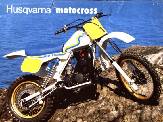 le guide vert husqvarna cross 1983 les fiches techniques moto enduro trial et motocross. Black Bedroom Furniture Sets. Home Design Ideas