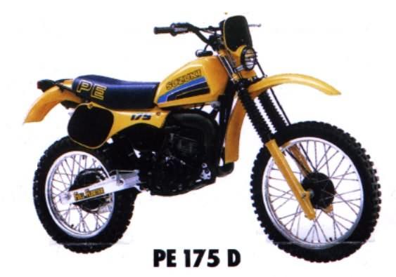 le guide vert suzuki enduro les fiches techniques moto enduro trial et motocross. Black Bedroom Furniture Sets. Home Design Ideas