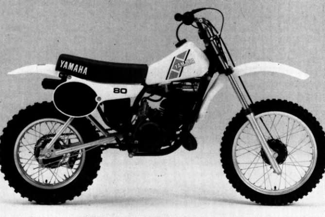 Le guide vert yamaha cross les fiches techniques moto for Yamaha moto 4 80 for sale
